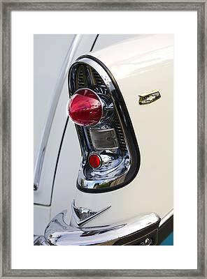 1956 Chevrolet Belair Nomad Taillight Emblem Framed Print