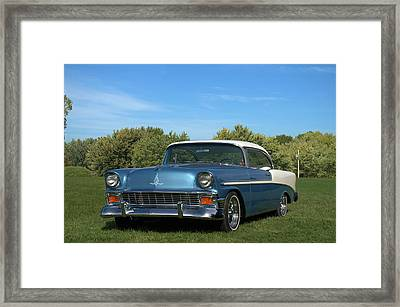 1956 Chevrolet Belair Framed Print by Tim McCullough