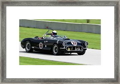 1956 Chevrolet Corvette Framed Print by Randy Scherkenbach