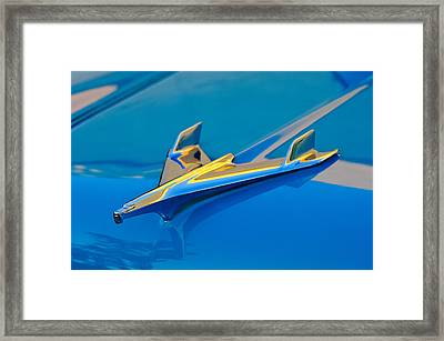 1956 Chevrolet Hood Ornament 2 Framed Print by Jill Reger