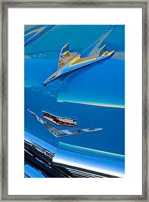 1956 Chevrolet Hood Ornament 4 Framed Print by Jill Reger