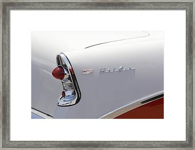 1956 Chevy Belair Framed Print by Mike McGlothlen