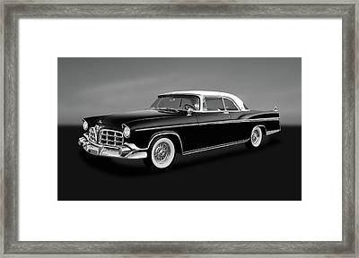 Framed Print featuring the photograph 1956 Chrysler Imperial Southampton   -   1956chrysimperialgry170226 by Frank J Benz