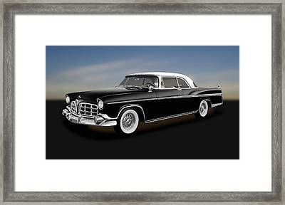 Framed Print featuring the photograph 1956 Chrysler Imperial Southampton   -   1956chryslerimperial170226 by Frank J Benz