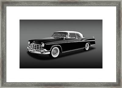 Framed Print featuring the photograph 1956 Chrysler Imperial Southampton   -   1956imperialhardtopfa170226 by Frank J Benz