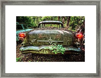 1956 Delta 88 Oldsmobile Framed Print