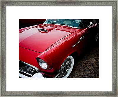 1956 Ford Thunderbird Framed Print