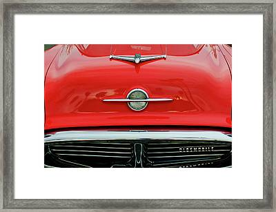 1956 Oldsmobile Hood Ornament 4 Framed Print by Jill Reger