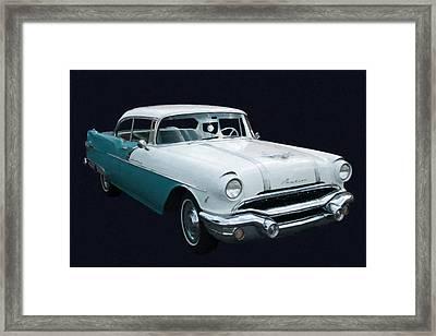1956 Pontiac Star Chief Digital Oil Framed Print