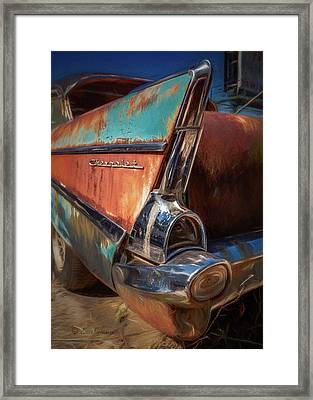 1957 Chevrolet Framed Print
