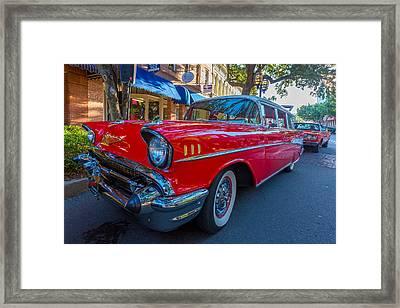1957 Chevy Bel Air Framed Print by Gestalt Imagery