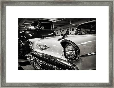 1957 Chevy Framed Print