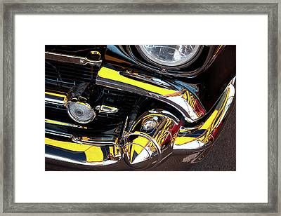 Framed Print featuring the photograph 1957 Chevy by Roger Mullenhour