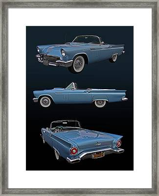 1957 Ford Thunderbird Framed Print