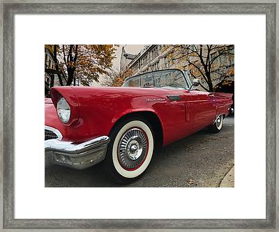 1957 Ford Thunderbird Framed Print
