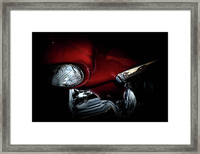 Framed Print featuring the photograph 1957 Ford Thunderbird, No.6 by Eric Christopher Jackson