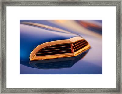 1957 Ford Thunderbird Scoop Framed Print by Jill Reger