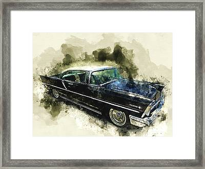 1957 Lincoln Premiere Framed Print