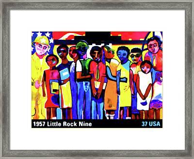 1957 Little Rock Nine Framed Print