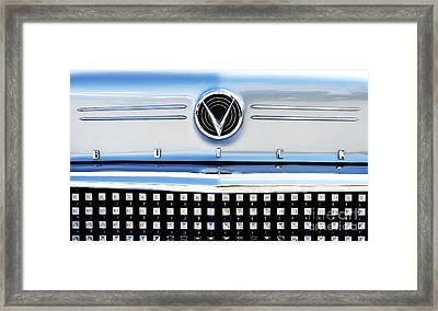 1958 Buick Roadmaster 75 Framed Print by Tim Gainey