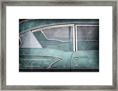 1958 Chevrolet Belair -0820ac Framed Print