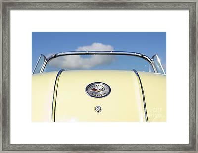 1958 Chevrolet Corvette Rear Framed Print by Tim Gainey