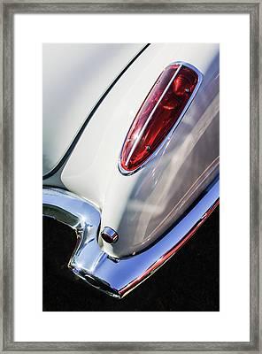 1958 Chevrolet Corvette Tail Light -0131c Framed Print