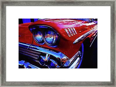 1958 Chevrolet Impala Framed Print