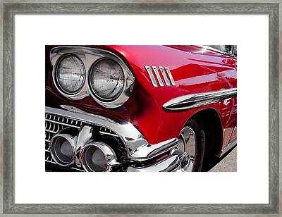 1958 Chevy Impala Framed Print by David Patterson