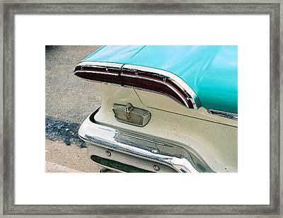 1958 Edsel Pacer Tail Light Framed Print