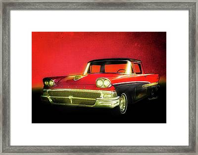 1958 Ford Ranchero 1st Generation Framed Print