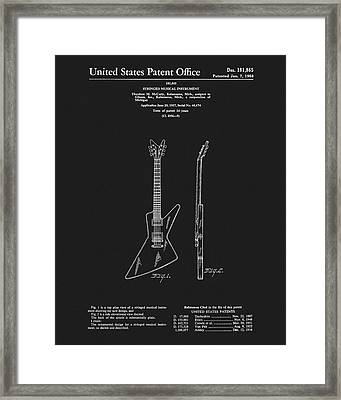 1958 Mccarty Gibson Framed Print