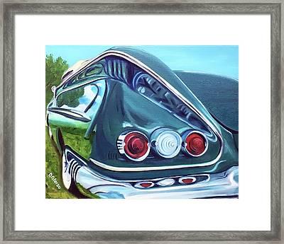 1958 Reflections Framed Print