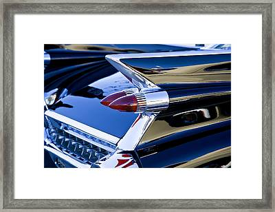 1959 Cadillac Coupe Deville  Framed Print by Rich Franco