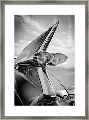 1959 Cadillac Eldorado Taillight- Pink Framed Print by Jill Reger