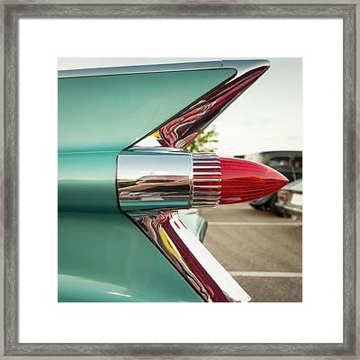 1959 Cadillac Sedan Deville Series 62 Tail Fin Framed Print