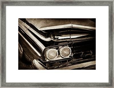 1959 Chevrolet El Camino Taillights -0463s Framed Print by Jill Reger