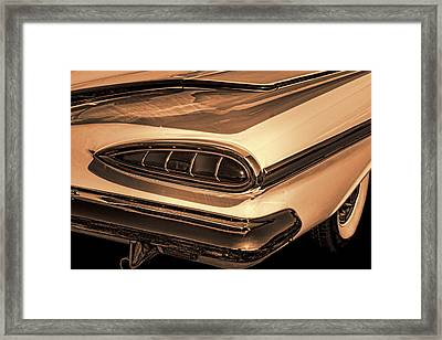 1959 Chevrolet Impala Sepia Framed Print