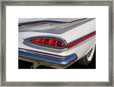 1959 Chevrolet Impala Tailight Framed Print