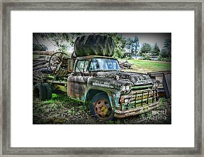 Framed Print featuring the photograph 1959 Chevrolet Viking 60 by Paul Ward