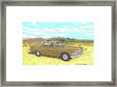 1959 Edsel Corsair Framed Print