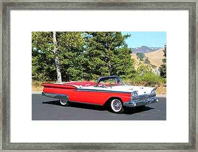 1959 Ford Fairlane 500 Framed Print