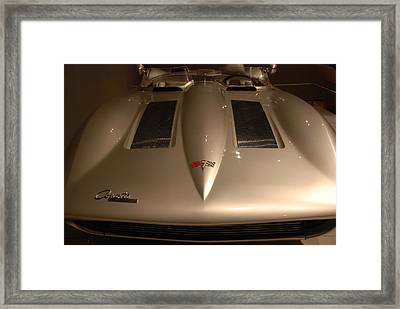1959 Stingray Corvette Framed Print