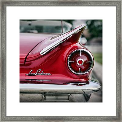1960 Buick Lesabre Framed Print by Gordon Dean II
