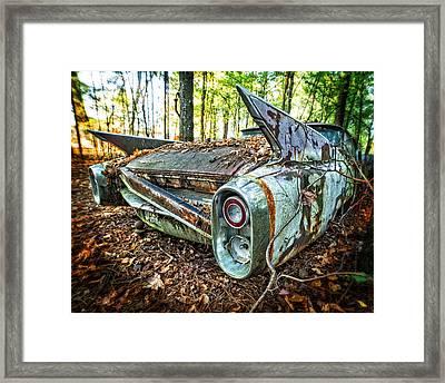 1960 Cadillac At Rest Framed Print