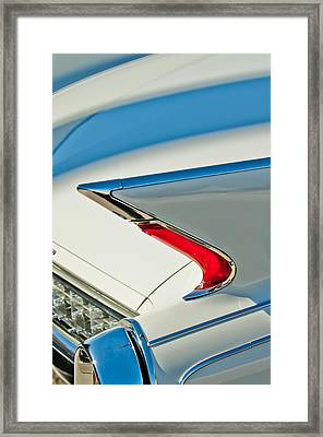 1960 Cadillac Eldorado Biarritz Convertible Taillight Framed Print by Jill Reger