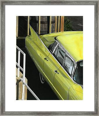 1960 Cadillac Framed Print by Jim Mathis