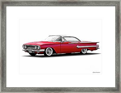 1960 Chevrolet Custom Impala I Framed Print