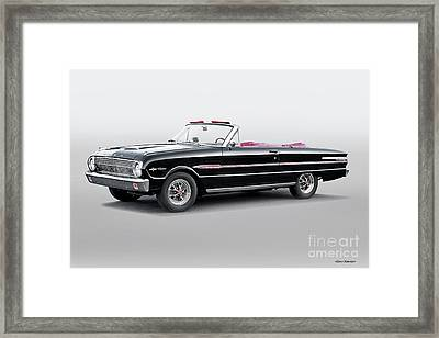 1960 Ford Falcon Sprint Convertible I Framed Print