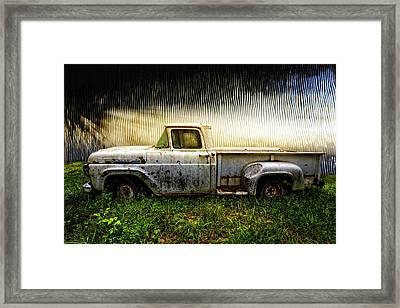 1960 Ford Pickup Truck Framed Print